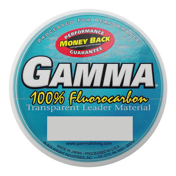 Gamma Fluorocarbon Leader Material 8lb 25m
