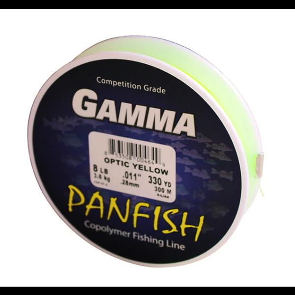 Gamma Polyflex Panfish Copolymer 10lb 300yds