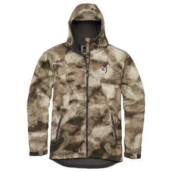 Browning Hell's Canyon Speed Hellfire-FM Insulated Gore Windstopper Jacket, A-TACS AU Camo, M