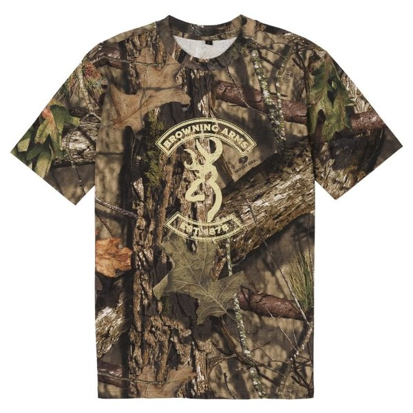 Browning Graphic T Buckmark/Mossy Oak Break-Up Country XL
