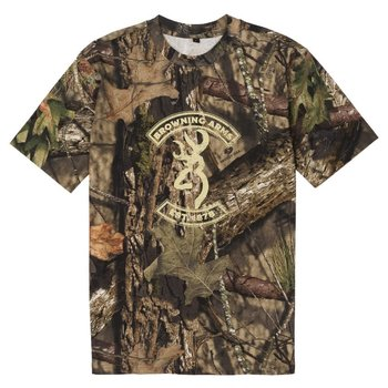 Browning Graphic T, Buckmark/Mossy Oak Break-Up Country, XXL