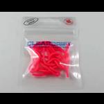 "Cleardrift Tackle Glow Trout Worm 3"" Glow Hot Pink 15-pk"