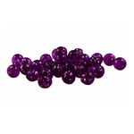Cleardrift Tackle Glitter Bomb 8mm Purple 30-pk