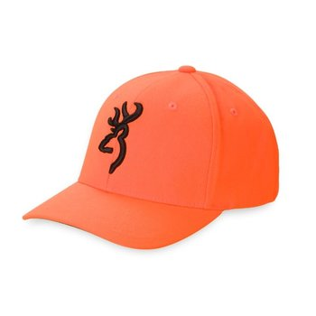 Browning Safety Flex Cap, Blaze Orange, S/M