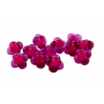 Cleardrift Tackle Embryo Egg Clusters 16mm Purple/Hot Pink Dot 10-pk