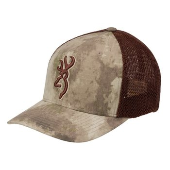 Browning Speed Meshback Flexfit Cap,  A-TACS AU, O/S