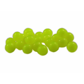 Cleardrift Tackle Glow Soft Eggs 8mm Chartreuse 24-pk