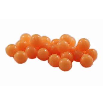 Cleardrift Tackle Glow Soft Eggs 8mm Fuzzy Peach 24-pk