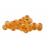 Cleardrift Tackle Embryo Soft Bead 8mm Natural Orange Orange Dot 30-pk