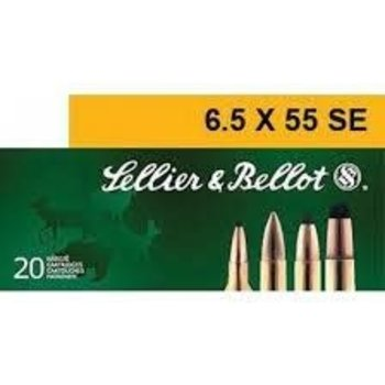 Sellier & Bellot 6.5x55 131gr SP Ammunition