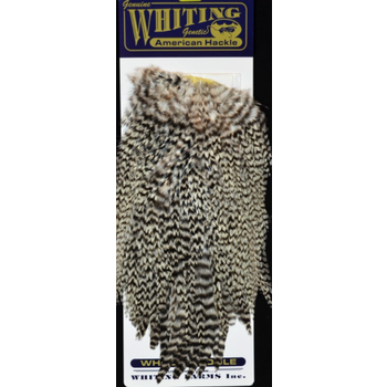 Whiting American Rooster Saddle Grizzly