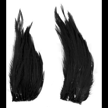 Shor Genetic Rooster Mini Pack. Hooks 2-6 Black