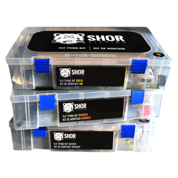 Shor Fly Tying Kit 3 Silver