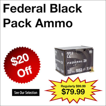 Federal Black Pack Ammo