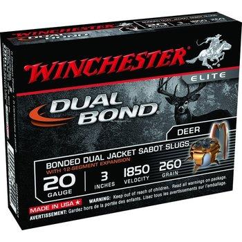 "Winchester Elite Dual Bond 20ga 3"" Sabot Slugs"