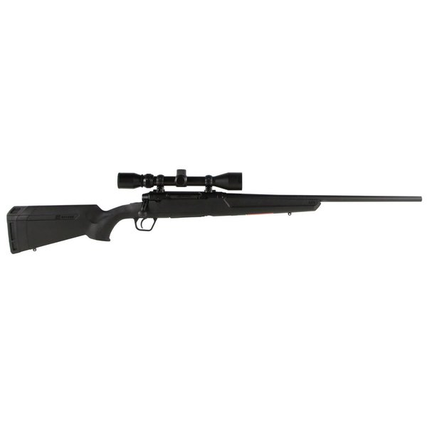 Savage 57259 Axis XP with Scope Bolt 6.5 CRD 22 4+1 Synthetic Black Stock