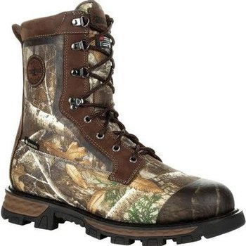 "Rocky Cornstalker NXT Gore-Tex Waterproof 800g Insulated Outdoor 8"" Boot, Realtree Edge, 9.5"