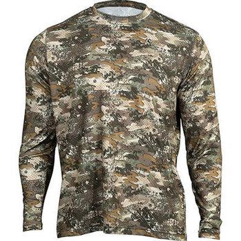 Rocky Camo Long-Sleeve Performance Tee Shirt, Rocky Venator, ME