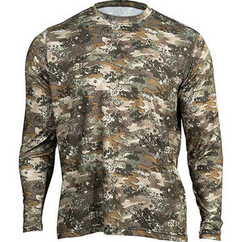 Rocky Camo Long-Sleeve Performance Tee Shirt, Rocky Venator, LR