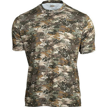 Rocky Camo Short-Sleeve Performance Tee Shirt, Rocky Venator, XL