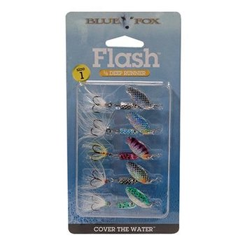 Blue Fox Flash Spinner Kit 1/8oz 5-pk