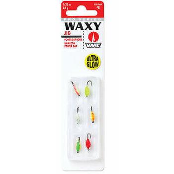 VMC Waxy Jig Kit 1/32oz Glow 6-pk