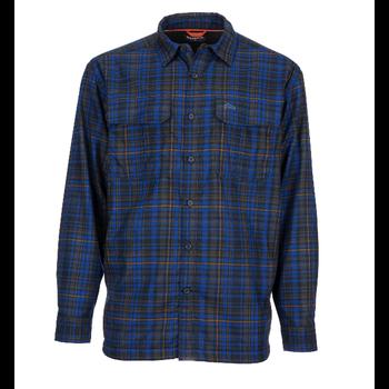 Simms M's ColdWeather LS Shirt L Rich Admiral Plaid