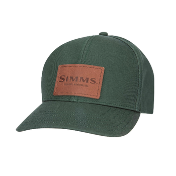 Simms Leather Patch Cap Foliage