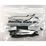 "Bondy Bait Bondy Worm 3.5"" Green Pumpkin 15-pk"