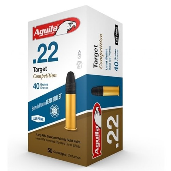 Aguila Target 22 Long Rifle Ammo 40 Grain Soft Point