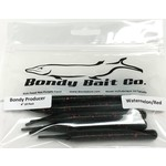 "Bondy Bait Bondy Producer 4"" Watermelon Red 10-pk"