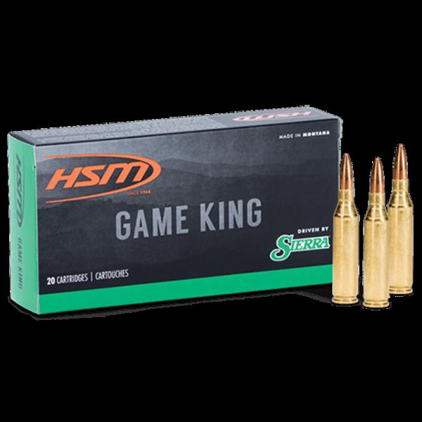 HS Munitions Game King .270 130gr SBT Ammunition