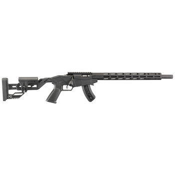 """Ruger 8404 Precision Bolt Action Rifle, 22 WMR, 18"""" Threaded Bbl, Quick-Fit Adjustable Stock, 15+1 Rnd"""