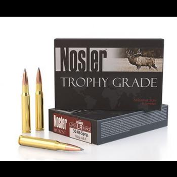 Nosler Trophy Grade Long Range Ammunition .30-06 Sprg 168 ABLR 2800 fps 20/ct