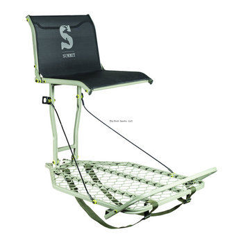 Summit Summit SU82117 Ledge XT Portable Hang-On Stand 23lbs 300lbs capacity seat 18x15.5 platform 24x30 foot rest ultimate in comfort