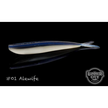 """Lunker City Fin-S Fish Alewife 2.5"""" 20-pk"""