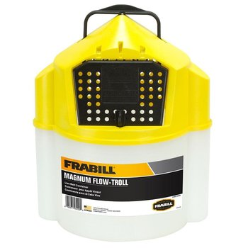 Frabill Magnum Flow-Troll Live Bait Container