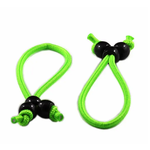 Cleardrift Tackle Reed Rod Wraps. Large Neon Green 2-pk