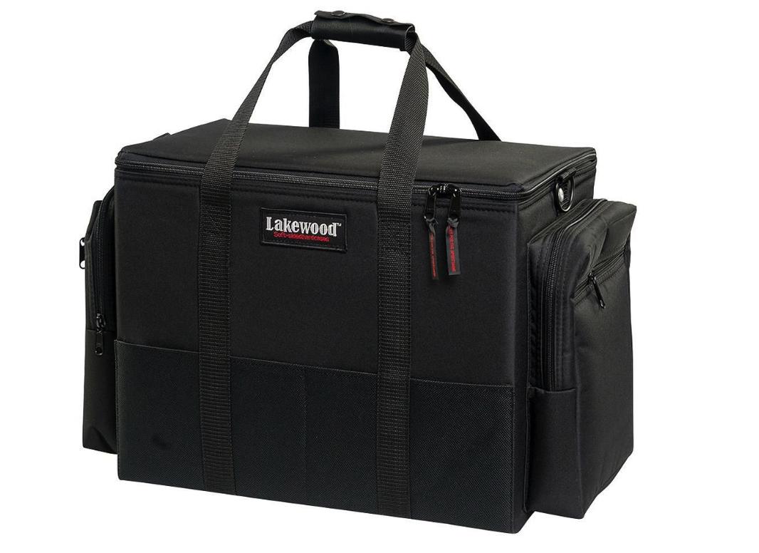 NEW Lakewood Soft-Sided Hard Musky Medium Fishing Tackle Box
