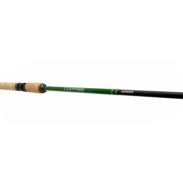 Shimano Compre Walleye 7' Medium Spinning Rod ExFast. 6-12lb 2-pc