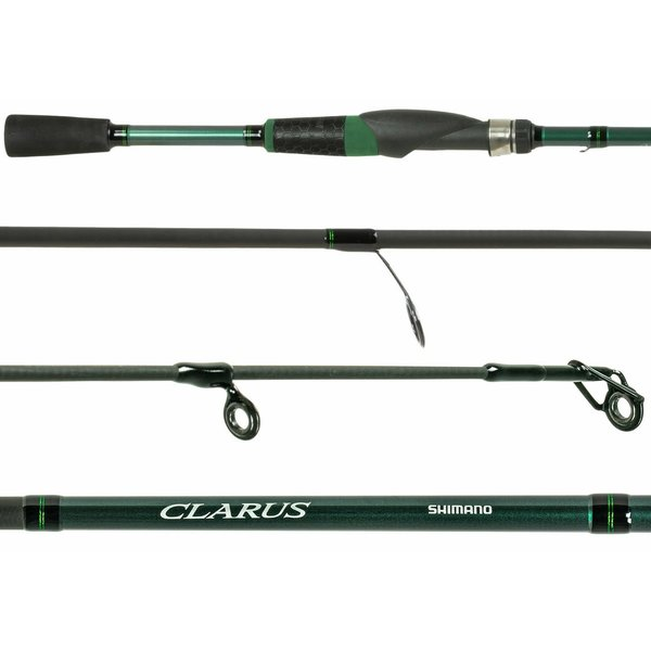 Shimano Clarus E 5'6UL Spinning Rod. 2-6lb 1/16-3/16oz