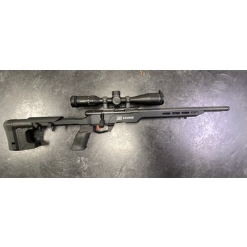 Savage B22 Precision 22 LR Bolt Action Rifle w/Hawke Frontier 4-20 Scope & Burris Signature Rings