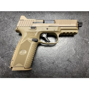 FNH FN 509 Tactical 9mm Optic Ready Semi Auto Pistol FDE w/3 Mags