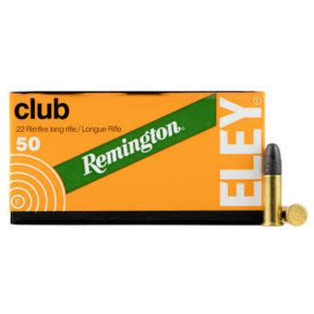 Eley Eley .22 LR Club Target Ammo