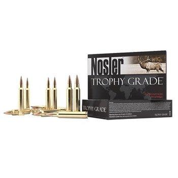 Nosler 60126 Trophy Grade Long Range Rifle Ammo, 300 Win Mag 190gr