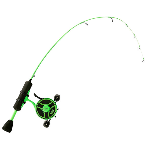 "13 Fishing Free Fall Radioactive Pickle Ice Combo 27"" L - LH"