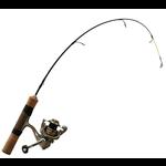"13 Fishing Microtech Walleye 36""M Ice Combo"