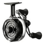 13 Fishing Black Betty 6061 Inline Ice Reel. LH