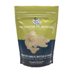 Outdoor Flavors Roasted Garlic Butter and Chives Seasoned Coating Mix