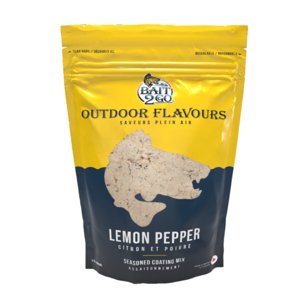 Outdoor Flavors Lemon Pepper Seasoned Coating Mix